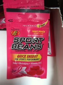 This makes us laugh (Sport Beans?) but they donate appropriately.